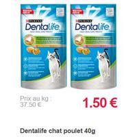 Sachet de Friandises pour Chat Dentalife Purina partout (18/11 – 23/12)