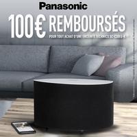Offre de Remboursement Panasonic : 100€ Remboursés sur Enceinte Technics