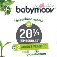 Offre de Remboursement Babymoov : 20% Remboursés sur Babyphone