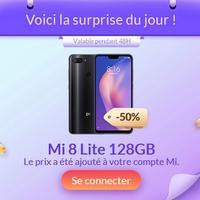 Bon Plan Xiaomi : Smartphone Mi 8 Lite 128Gb à 155€