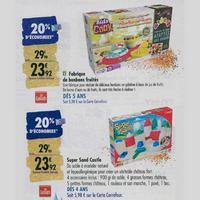 Bon Plan Goliath : 3 Jeux Be Creative à 10,96€ chez Carrefour (11/11 – 17/11)