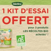 Bon Plan Blédina : 1 Kit Les Récoltes Bio Offert