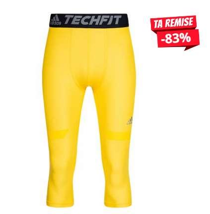 6€ le Legging de sport  adidas TechFit Chill pour hommes