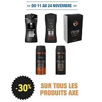 Leclerc : 30% de Remise sur tous les produits Axe (11/11 – 24/11)