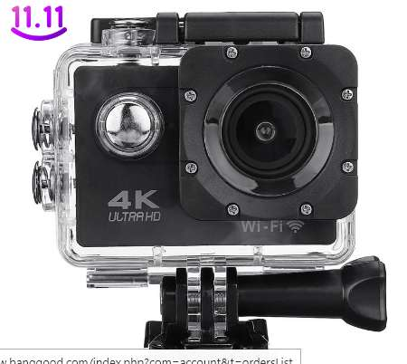 11,70€ la caméra sportive SJ9000