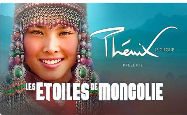 Billets moins cher pour le Cirque Phenix Les Etoiles du cirque de Mongolie