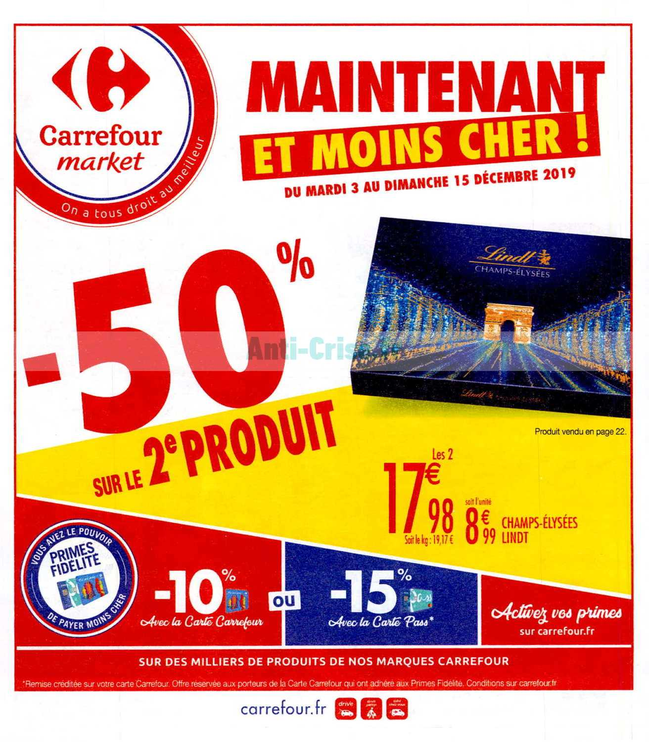 Catalogue Carrefour Market du 03 au 15 décembre 2019