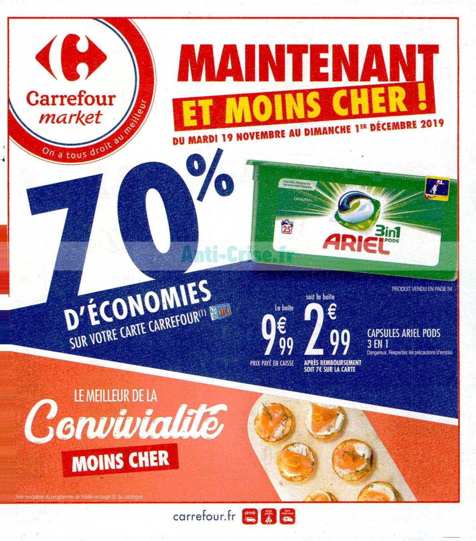 Catalogue Carrefour Market du 19 novembre au 01 décembre 2019