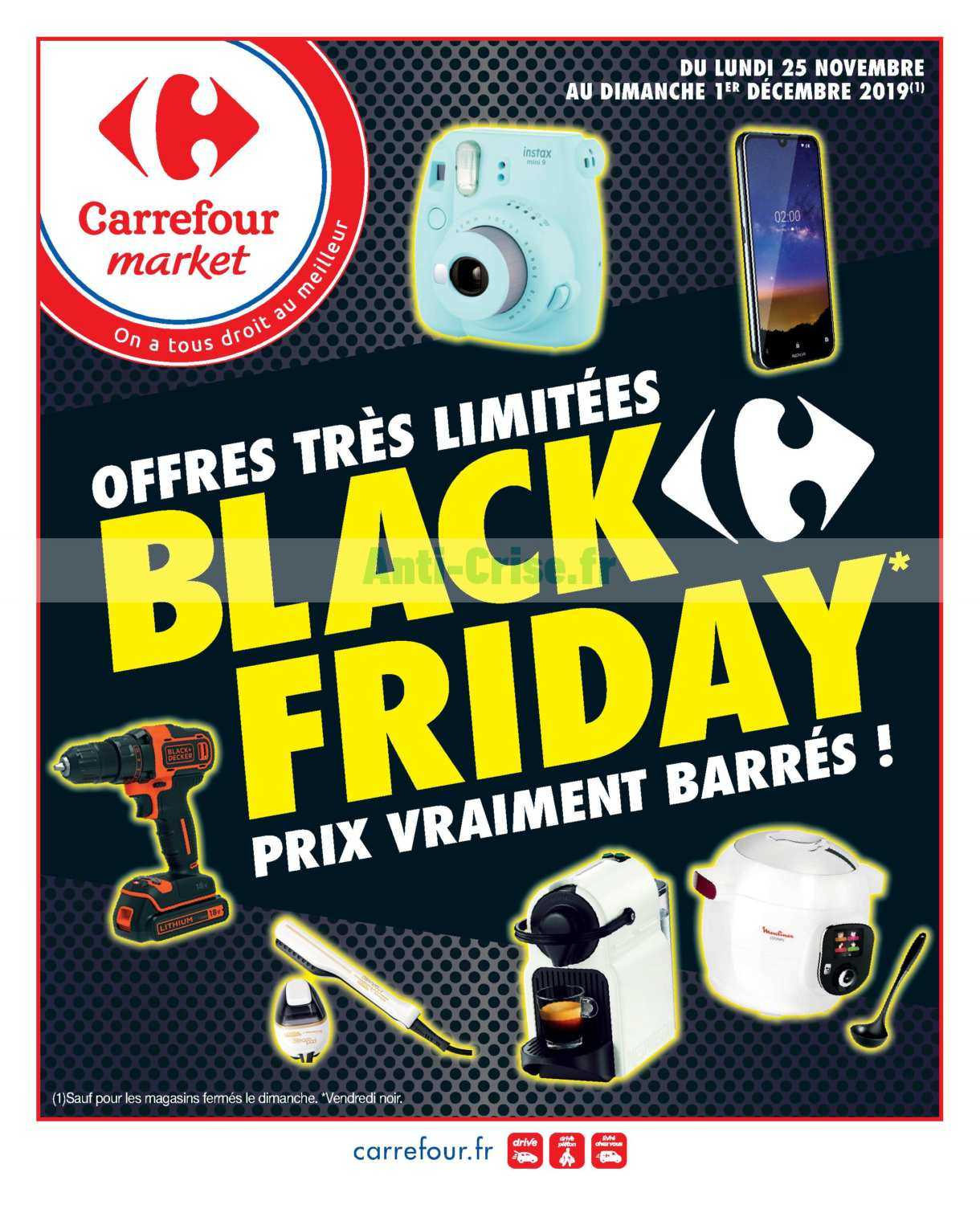 Catalogue Carrefour Market du 25 novembre au 01 décembre 2019 (Black Friday)