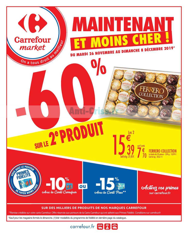 Catalogue Carrefour Market du 26 novembre au 08 décembre 2019