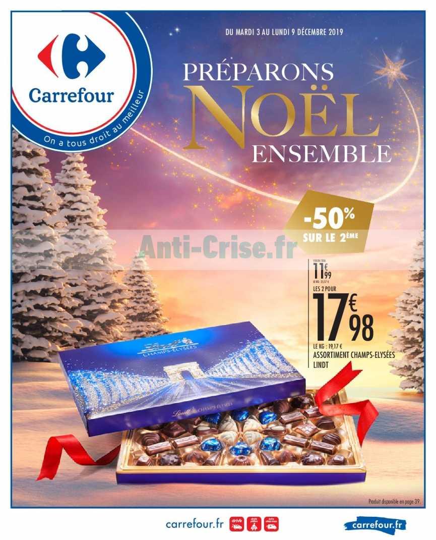 Catalogue Carrefour du 03 au 09 décembre 2019