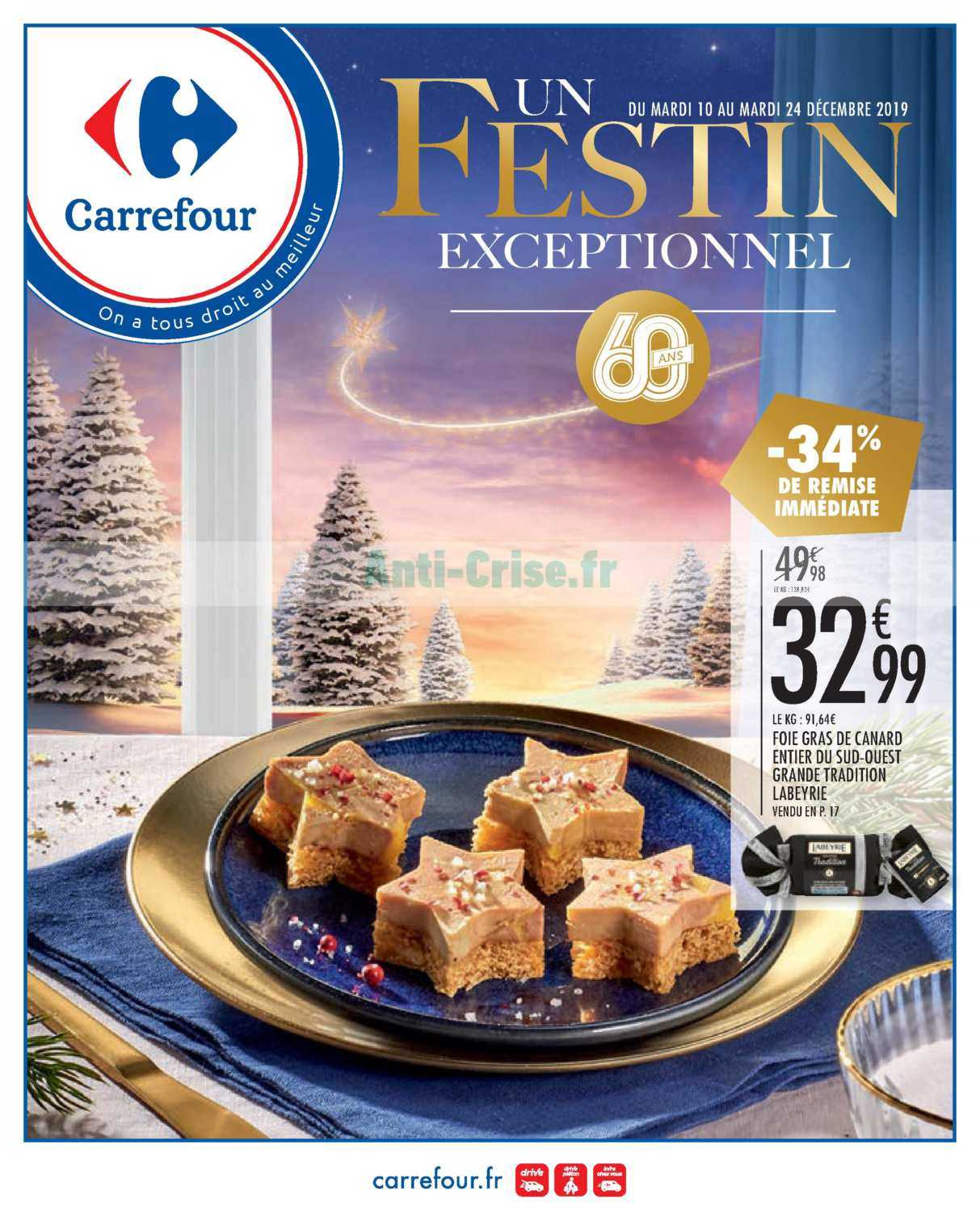 Catalogue Carrefour du 10 au 24 décembre 2019