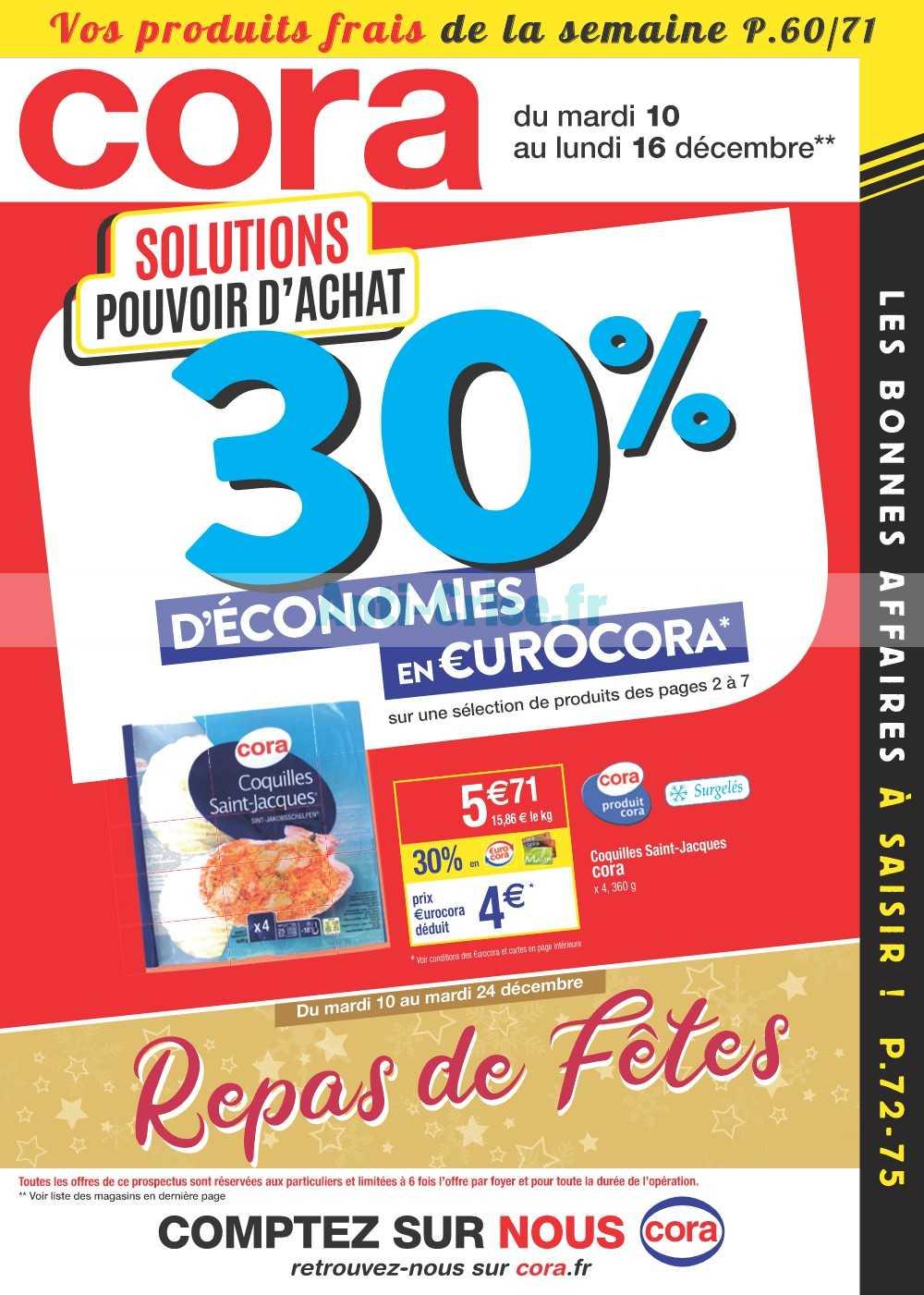 Catalogue Cora du 10 au 16 décembre 2019 (Alsace)