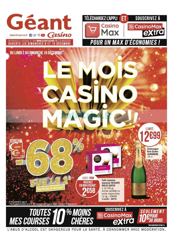 Catalogue Géant Casino du 02 au 15 décembre 2019
