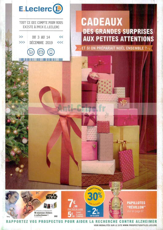 Catalogue Leclerc du 03 au 14 décembre 2019 (Cadeaux)