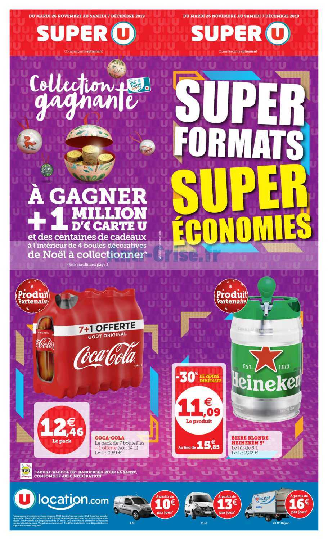 Catalogue Super U du 26 novembre au 07 décembre 2019 (Super Formats)