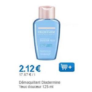 Démaquillant Yeux Diadermine chez Leclerc (01/11 – 30/11)