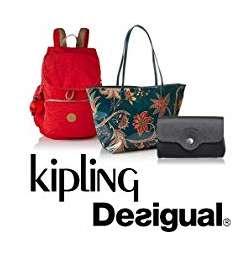 Jusqu'à 40% de réduction sur des Sacs Desigual , Kipling