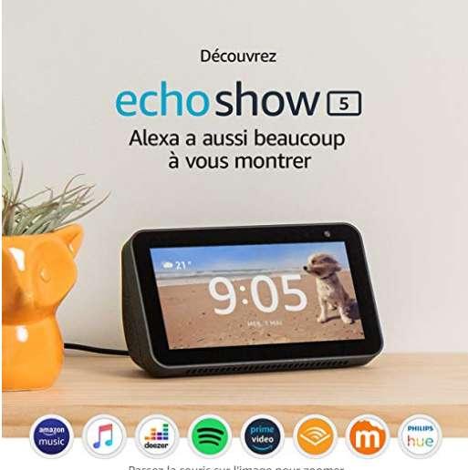 Ecran Amazon Echo Show à 49.9€