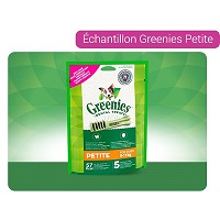 Echantillon Greenies Petite sur Quoty