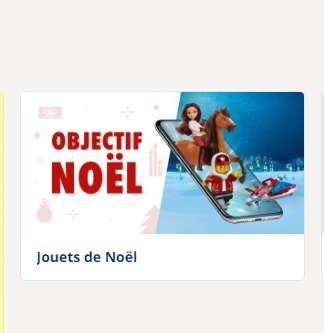 10€ de réduction pour 50€ d'achats en jouets sur le site Carrefour