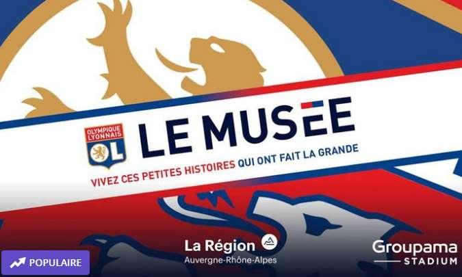 20-30% de réduction sur le Musée de l'Olympique Lyonnais