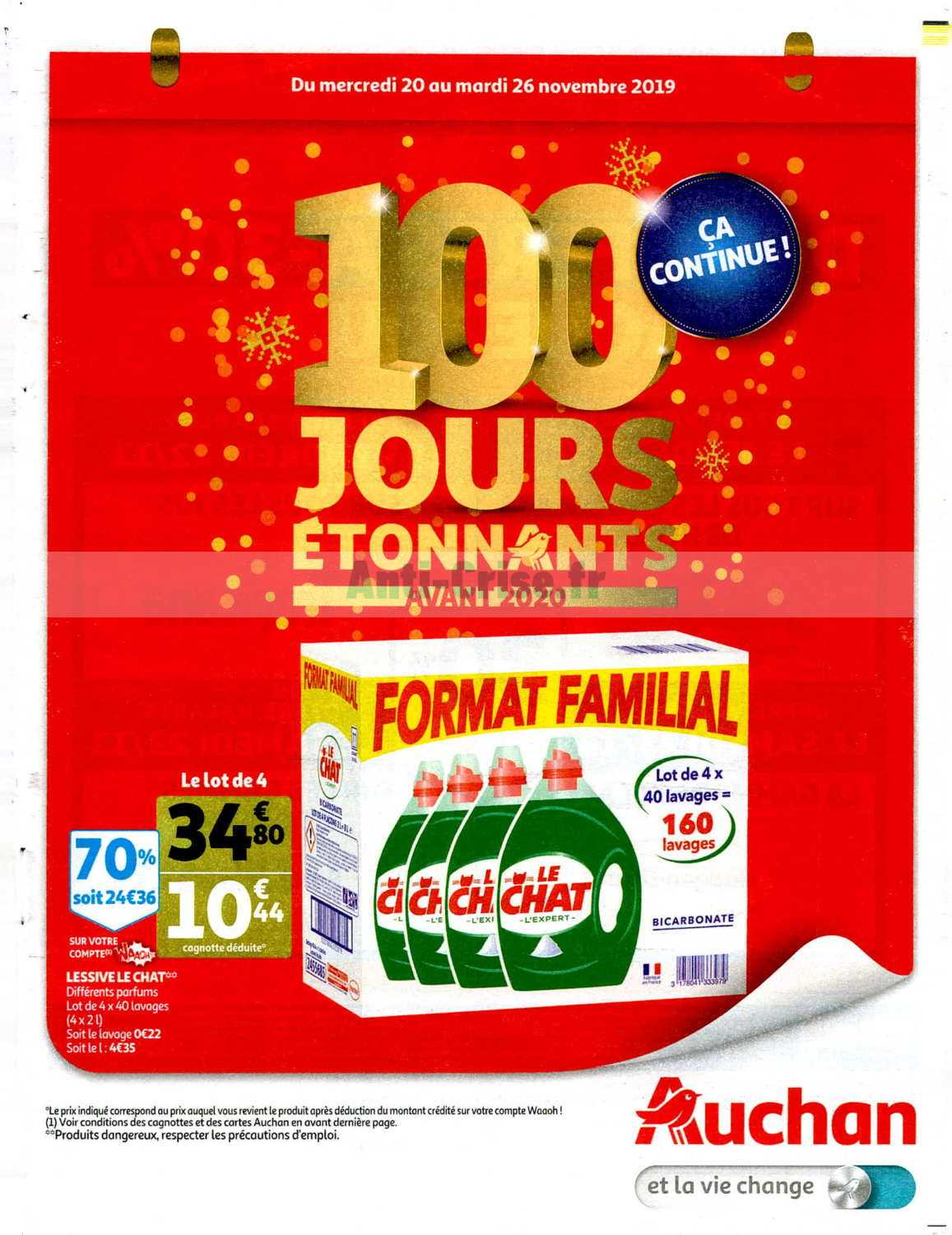 Catalogue Auchan du 20 au 26 novembre 2019