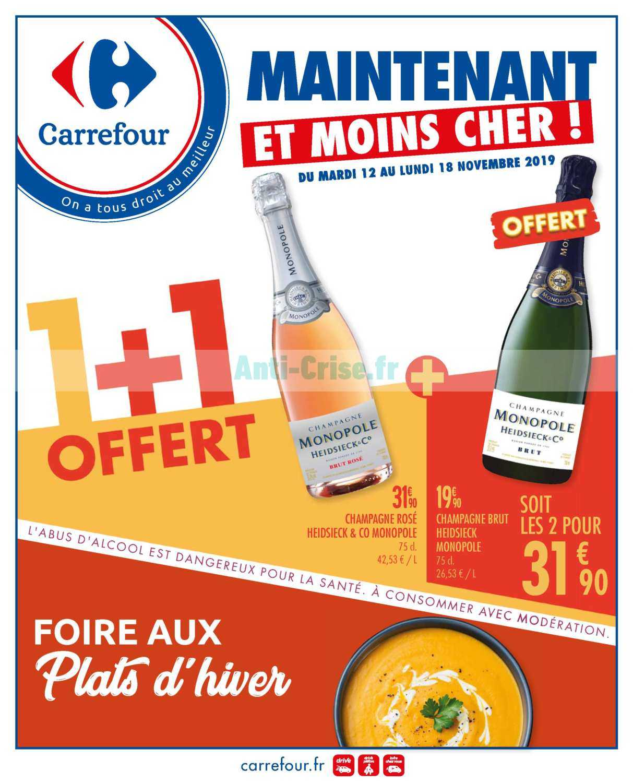 Catalogue Carrefour du 12 au 18 novembre 2019