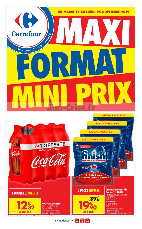 Catalogue Carrefour Du 12 Au 25 Novembre 2019 Maxi Format