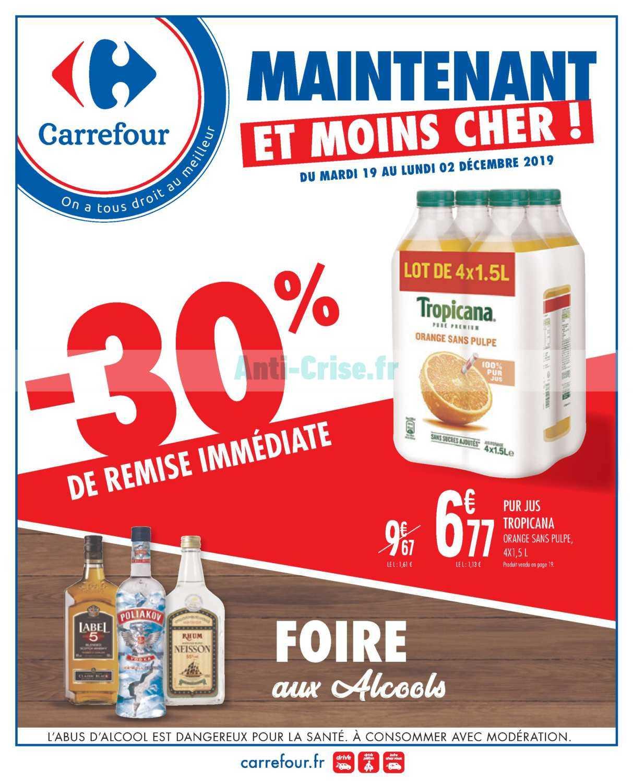 Catalogue Carrefour du 19 novembre au 02 décembre 2019
