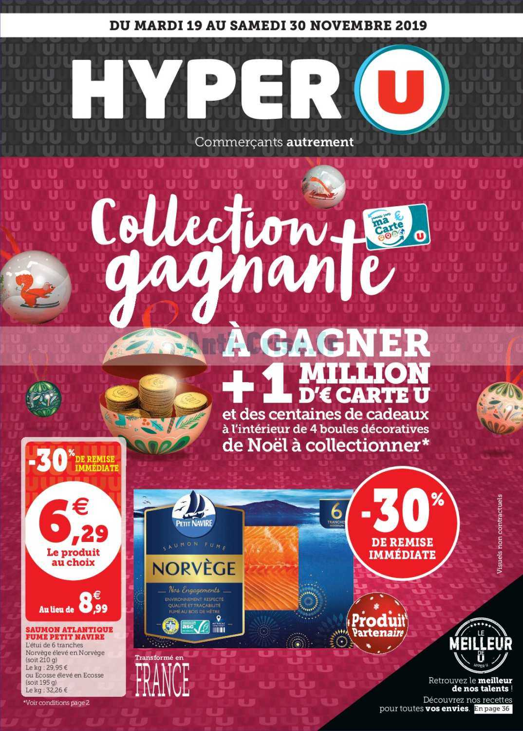 Catalogue Hyper U du 19 au 30 novembre 2019