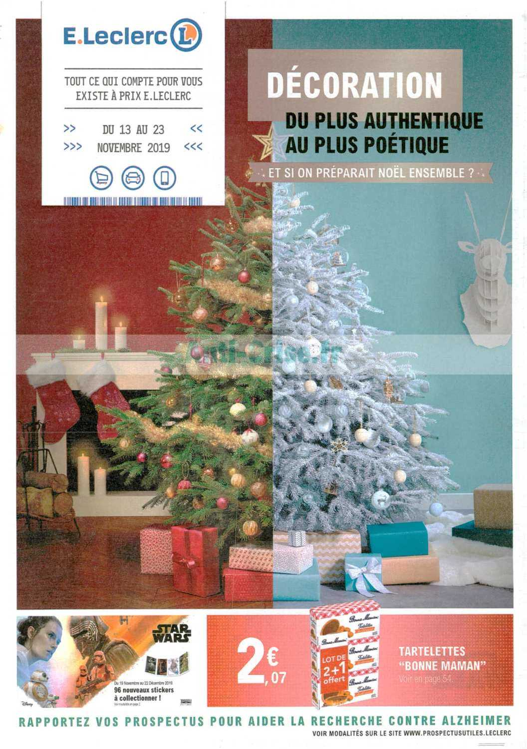 Catalogue Leclerc du 13 au 23 novembre 2019