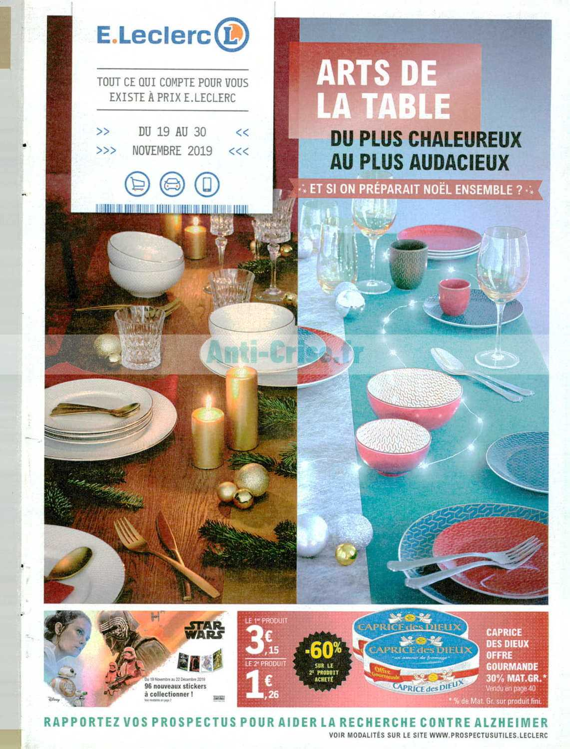 Catalogue Leclerc du 19 au 30 novembre 2019