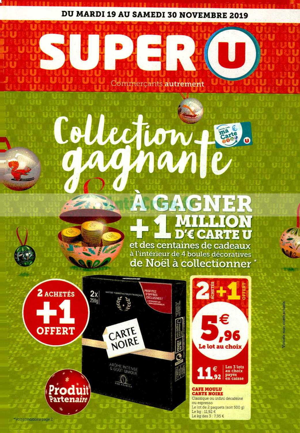Catalogue Super U du 19 au 30 novembre 2019