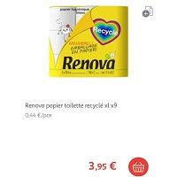 Papier Toilette Pack en Papier Renova Partout