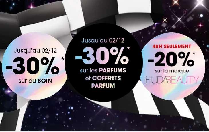 Black Friday Sephora : 30% de réduction sur les parfums