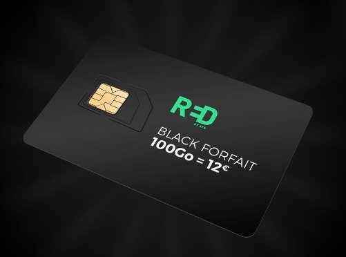Black Friday SFR : 12€ le forfait mobile  SFR RED 100go