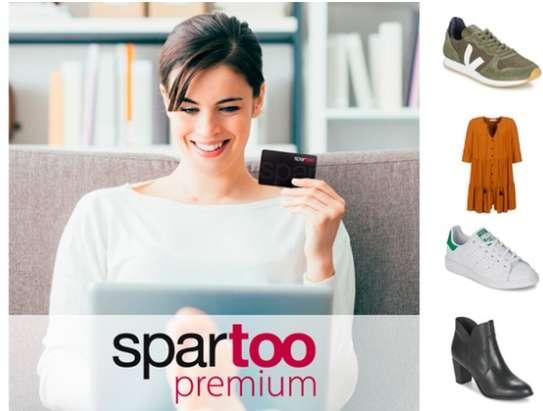 2€ au lieu de 19.9€ la carte Spartoo Premium