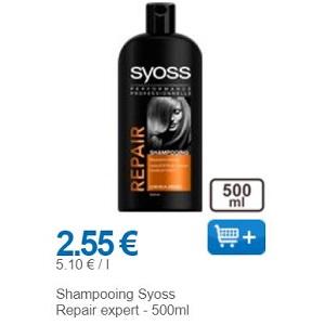 Shampoing Syoss chez Leclerc (01/11 – 30/11)