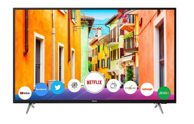 399€ le televiseur SABA SB55UHD19 4K