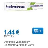 Dentifrice Vademecum chez Leclerc (01/11 – 30/11)