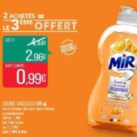 Liquide Vaisselle Mir chez Match (10/12 – 26/12)