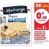 Mousse de Canard Madrange chez Magasins U (10/12 – 24/12)