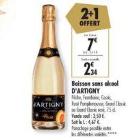Boisson Sans Alcool D'Artigny chez Carrefour (10/12 – 21/12)