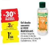 Gel Douche Le Petit Marseillais chez Carrefour (10/12 – 24/12)