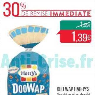 Brioches Doowap Harrys chez Match (10/12 – 26/12)