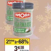 Sauce Gourmet Amora chez Cora (10/12 – 16/12)