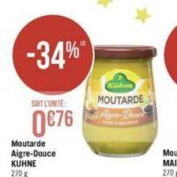 Moutarde Kühne chez Géant Casino (09/12 – 22/12)