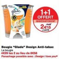 Bougie Parfumée Glade chez Monoprix (04/12 – 15/12)