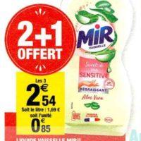 Liquide Vaisselle Mir chez Carrefour Market (03/12 – 15/12)